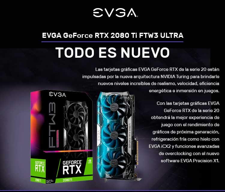 EVGA GeForce RTX 2080, todo es nuevo